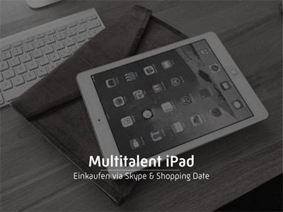 Multitalent iPad